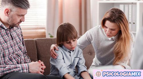 Comunicación con los niños cuando los padres enferman